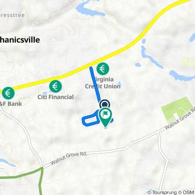 7379 Lexington Dr, Mechanicsville to 7349 Lexington Dr, Mechanicsville