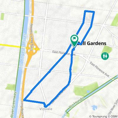 Ira Avenue 6845, Bell Gardens to Ira Avenue 6839, Bell Gardens