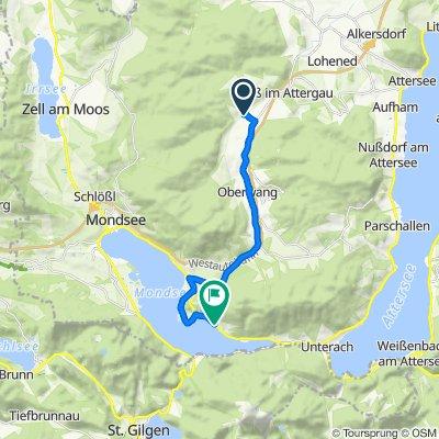 Powang 32, Straß im Attergau nach Niedersee 4–24, Innerschwand