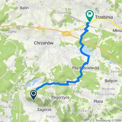 Żelatowa 8, Zagórze do Kościuszki 126, Trzebinia