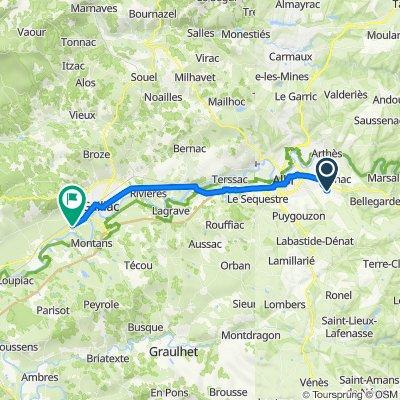 De 14 Les Terrasses du Lézert, Cambon à Route de l'Isle-sur-Tarn, Gaillac