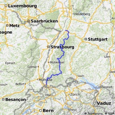 Schwarzwald-Radweg 2011