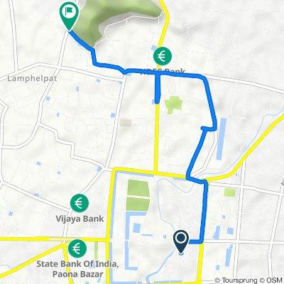 New Checkon Road, Imphal to Imphal