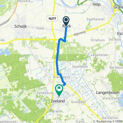 Monseigneur Borretstraat 6, Reek naar Kerkstraat 62A, Zeeland