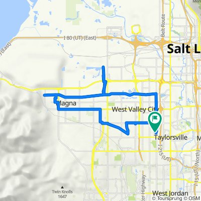 4483 S Parkbury Way, West Valley City to 4489 S Parkbury Way, West Valley City