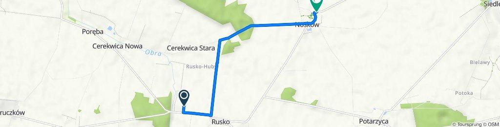 Trasa do Jarocińska 3, Nosków