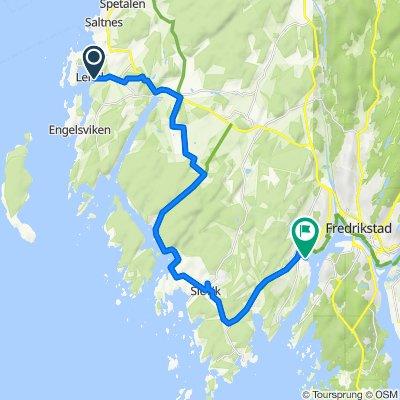 etappe 3: lervik - østkilen
