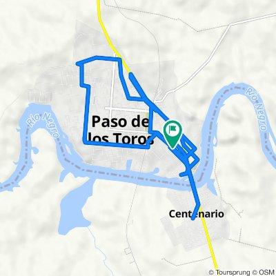 Bulevar José Artigas 276, Sección 10 to Bulevar José Artigas 270, Sección 10