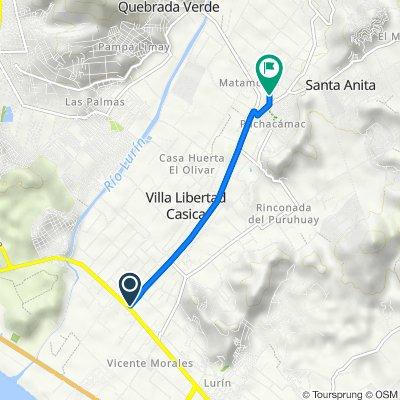 De Avenida Manuel Valle 1088, Cercado de Lima a Prolongación Jr. Suspiros, Cercado de Lima