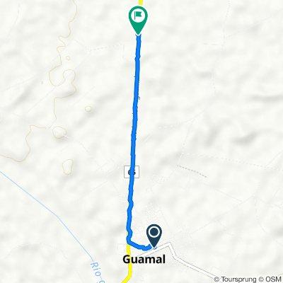 De Calle 12 7-18, Guamal a Via Acacías - Guamal