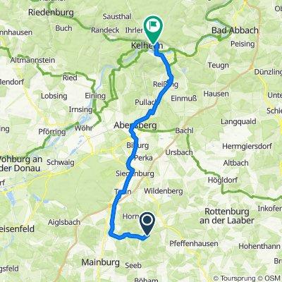 Allakofer Straße 1, Attenhofen nach Weinbergweg, Kelheim
