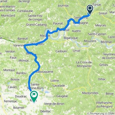 Dag 2: Dordogne en Lot