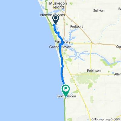 106 Boulder Dr, Norton Shores to 7168 Lakeshore Dr, West Olive