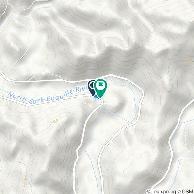 96294 Sitkum Ln, Myrtle Point to 96456 Sitkum Ln, Myrtle Point