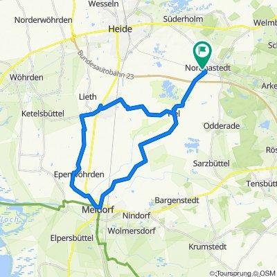 Nordhastedt - Meldorf