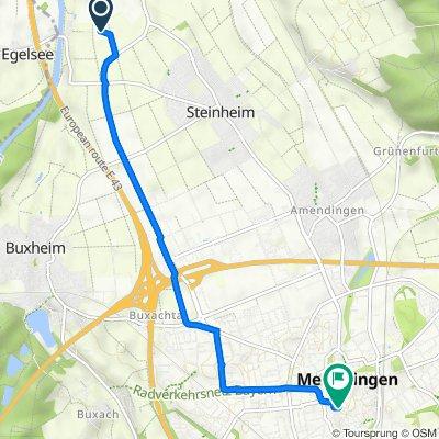 Trasa do Rotergasse 6, Memmingen