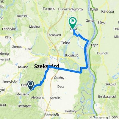 7. nap: Szálka - Szekszárd/Fadd