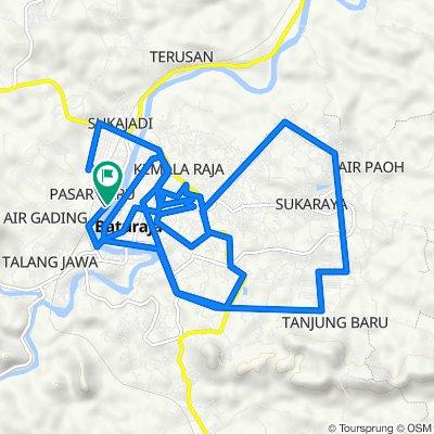 Jalan Doktor Sutomo 155, Kecamatan Baturaja Timur to Jalan Doktor Sutomo 223, Kecamatan Baturaja Timur