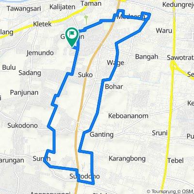 Jalan Taman Pondok Jati to Jalan Taman Pondok Jati