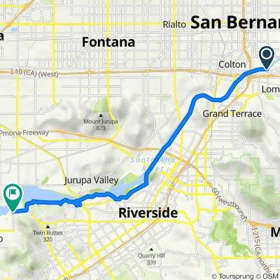South Waterman Avenue 1750, San Bernardino to California Avenue 4886, Norco