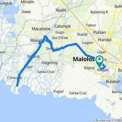 Bangkal-Matimbo Farm-to-Market Road, Malolos to Bangkal-Matimbo Farm-to-Market Road, Malolos