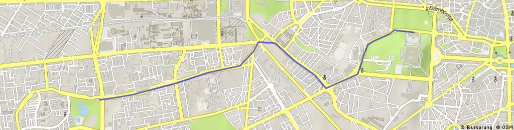 Traseu Marsul Tacerii 18 Mai 2011
