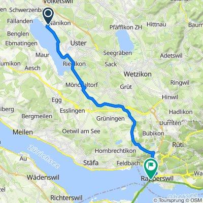 Meierwis 15, Greifensee nach Mühlegasse, Rapperswil-Jona