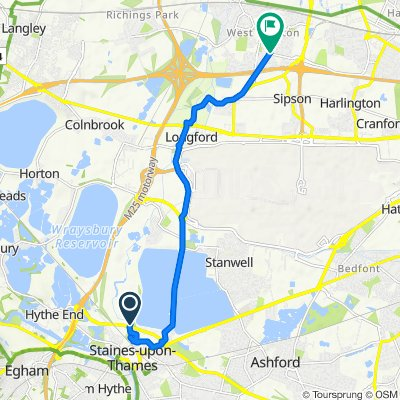 Staines Bypass 6770, Stanwell to Keats Way 2