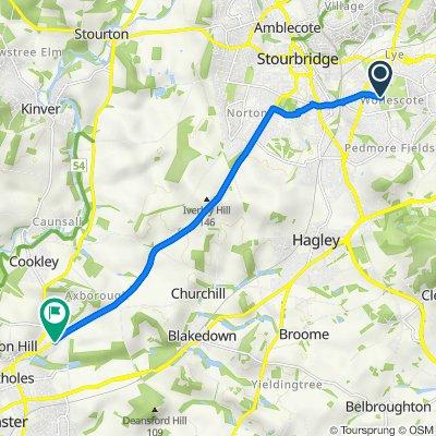 5 The Summit, Stourbridge to 2 Albrighton Drive, Kidderminster