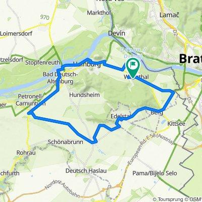 Waldweg 18, Wolfsthal to Waldweg 22, Wolfsthal