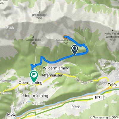 Unnamed Road nach Feuerwehrweg 6, Obermieming
