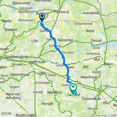 Vosselaarseweg 1, Lille naar Steenbergen 100, Laakdal