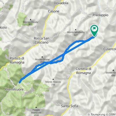 Da Via San Francesco D'Assisi 79, San Savino a Via San Francesco D'Assisi 77, San Savino