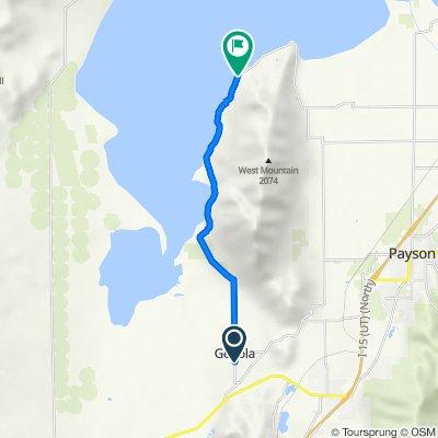 273 S Main St, Genola to 5615–5885 Lincoln Beach Rd, Spanish Fork