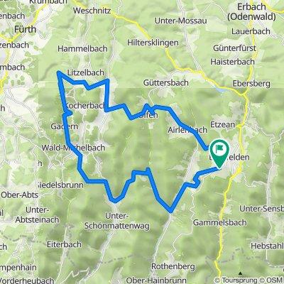 Beerfelden - Wald-Michelbach - Beerfelden