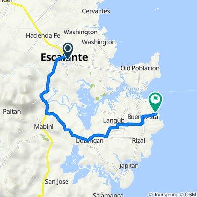Philippines, Escalante City to Unnamed Road, Escalante City