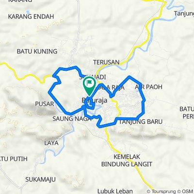 Jalan Doktor Sutomo 155, Kecamatan Baturaja Timur to Jalan Doktor Sutomo 155, Kecamatan Baturaja Timur