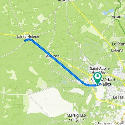 De 23–41 Rue Gabriel Garbay, Saint-Médard-en-Jalles à 23–41 Rue Gabriel Garbay, Saint-Médard-en-Jalles