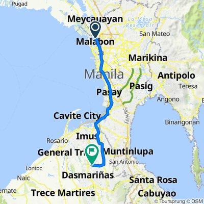 Marcelo H. Del Pilar Street 421, Malabon to Philippines, Dasmariñas