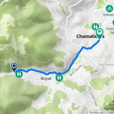 De 23 Avenue du Puy-de-Dôme, Royat à 29bis Avenue des Thermes, Chamalières