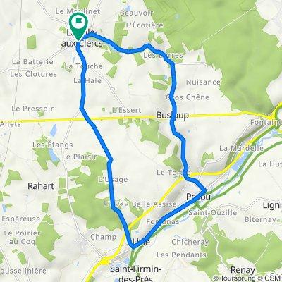De Place de Leglise 16, La ville-aux-Clercs à Place de Leglise 16, La ville-aux-Clercs