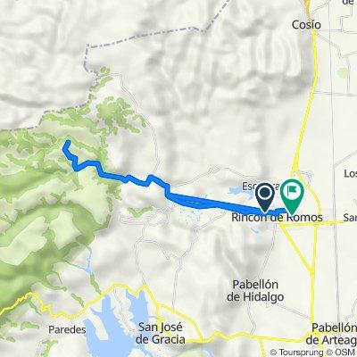 De Fresno 210A, Rincón de Romos a Calle de la Concordia 103, Guadalupe