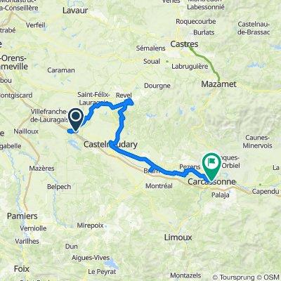 9. Montferrand to Carcassonne
