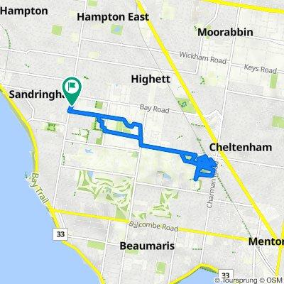 21 Miller Street, Sandringham to 21 Miller Street, Sandringham