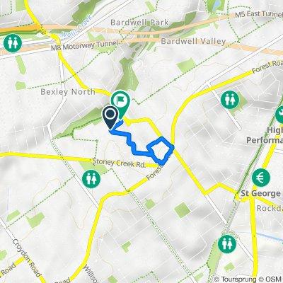 43 Eddystone Road, Bexley to 53 Eddystone Road, Bexley