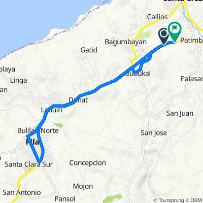 Philippines, Santa Cruz to National Highway 4009, Santa Cruz