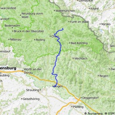 Von Faustendorf nach Bogenberg