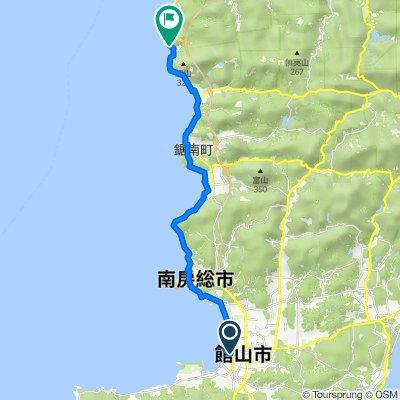 太平洋岸CR 館山〜金谷