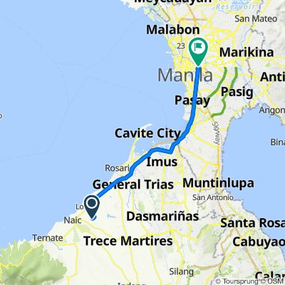 Unnamed Road, Naic to Leo 793, Manila
