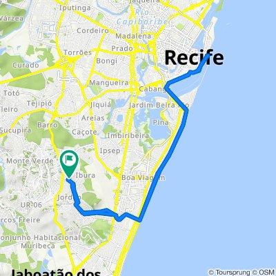 De Rua Cassiano Leite, Recife a Rua Cassiano Leite, Recife